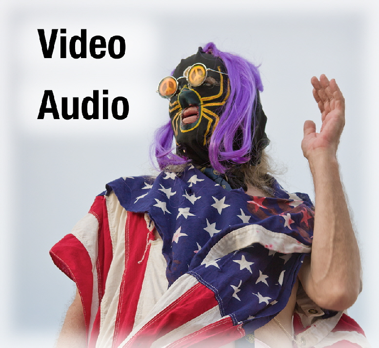 "Click ""Video"" or ""Audio""."